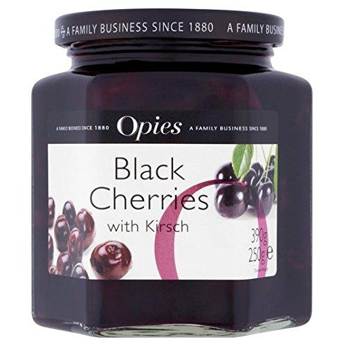Opies Cerezas Negras Y Kirsch 390g