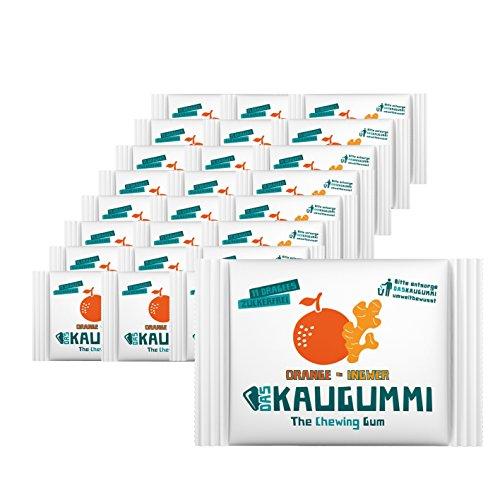 Das Kaugummi Orange/Ingwer 25er-Set je 11 Dragees - Bekannt aus