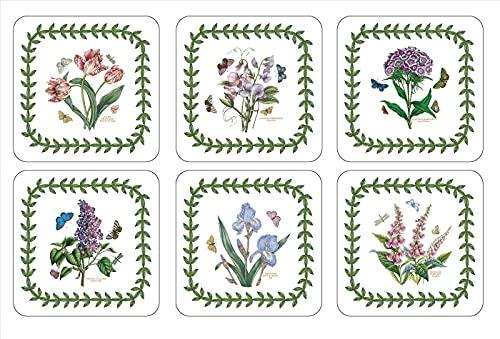 Pimpernel Botanic Garden Coasters (6 Motifs)