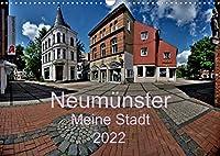 Neumuenster - Meine Stadt (Wandkalender 2022 DIN A3 quer): Panoramabilder von der Stadt an der Schwale (Monatskalender, 14 Seiten )