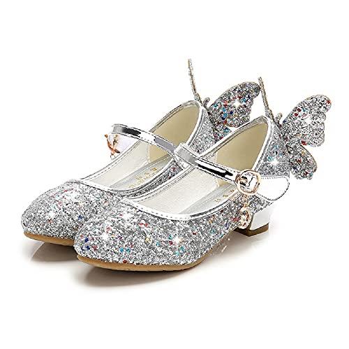 Zapatos de vestir para niñas Fiesta de Boda Tacón Alto Mary Jane...