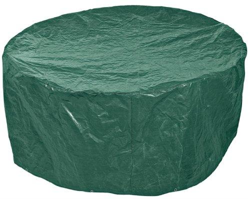 Draper - 76232 - Bâche de Protection pour Table Ronde d'extérieur, 1,900 x 800 mm