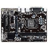 BEROVE Placa Base Fit for Gigabyte GA-H110M-S2PH H110M-S2PH LGA 1151 DDR4 USB3.0 SATA3 PCI-E3.0 para PC para Juegos