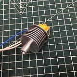 XACQuanyao LMY-POLEY, 1pcs para Flashforge Guider 2 Impresora 3D EXTRUDER End ASAMBLY Kit de montaje de baja temperatura Versión Guider 2S Disipador de calor Hotend Set 0.75mm