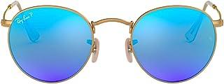 Ray-Ban Women's Rb3447 Metal Round Sunglasses