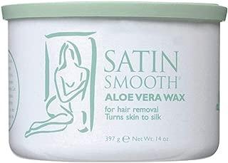 Satin Smooth Aloe Vera Wax 14 Oz