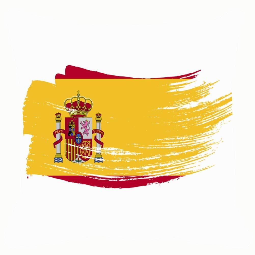 Fundas de cojín 18x18, Grunge BStroke Bandera Nacional de España Signos Símbolos Signos de España Símbolos: Amazon.es: Hogar
