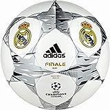 adidas Fútbol Real Madrid UCL Finale 14Mini, White/Metallic Silver/Black, 1, f93391