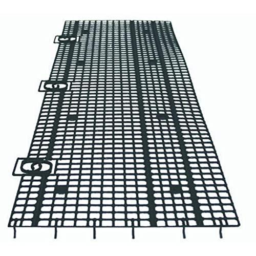 Dachrinnenschutz 20m einfache Montage, anpassbare Breite und Länge, Made in Germany