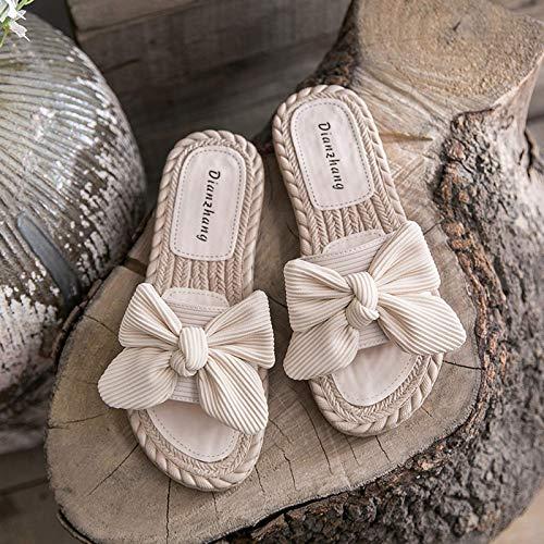 ZAIMA Shard Dragonfly Wear 2021 New Wild Fairy Wind Butterfly Pantofole Femmina Side Side Side Shoes Shoes