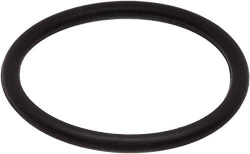 "014 Buna-N O-Ring, 90A Durometer, Round, Black, 1/2"" ID, 5/8"" OD, 1/16"" Width (Pack of 100)"