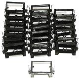 Arlington LVN1 Low Voltage Mounting Bracket W/Nails, 1-Gang, Black, 25-Pack