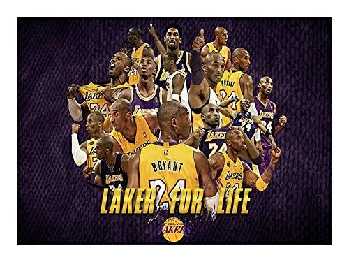 GAONAN NBA de Madera 300/520/1000 Piezas de un Rompecabezas - Lakers for la Vida - Cada Pieza es única, Piezas encajan Perfectamente Rompecabezas (Size : 1000pcs)