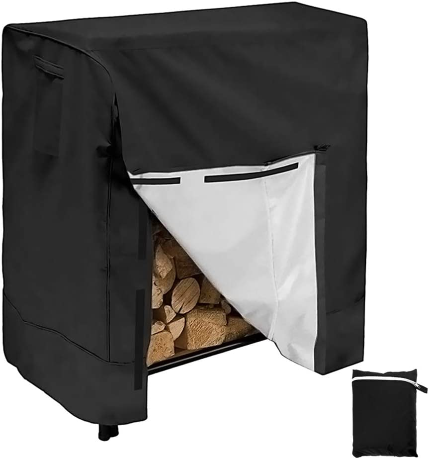 Translated Firewood Rack Cover Waterproof Windproof Log 4 Special price for a limited time Feet