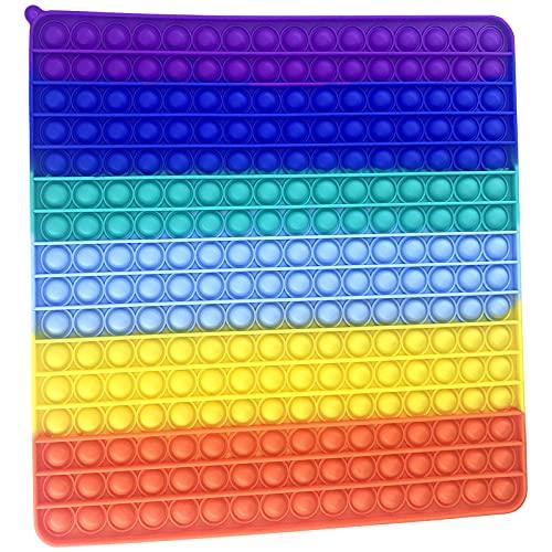 Wuximde Big Size Push Pop Bubble Sensory Fidget Toys,256...
