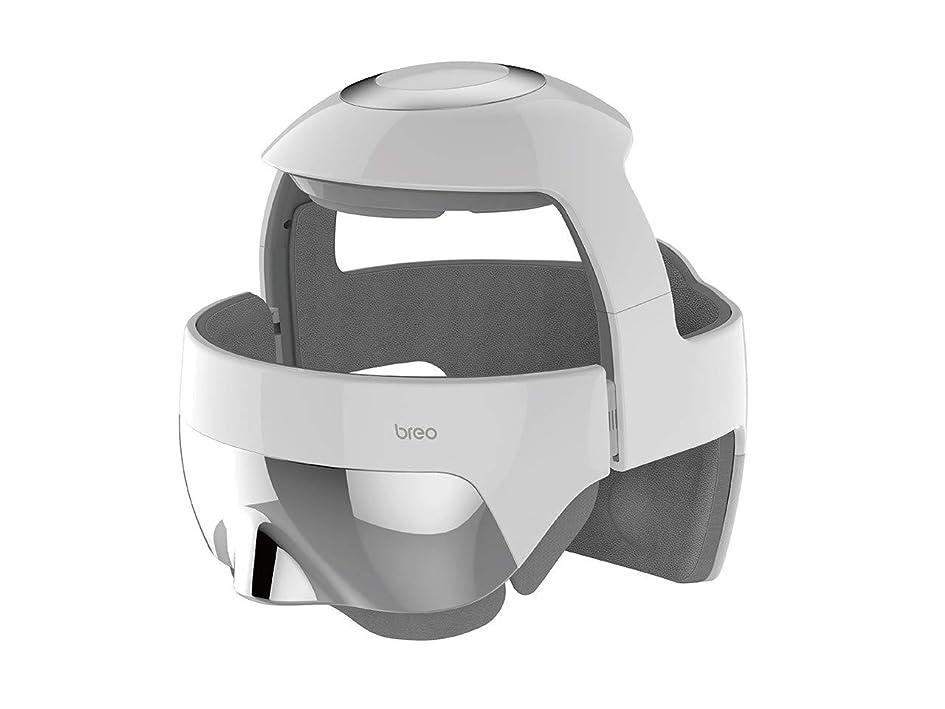 王子フラップオーチャードbreo(ブレオ) i-Brain5S(アイブレイン5エス) トータルヘッドスパ 頭 目元 USB充電 エア 温め リラックス コードレス メーカー保証有