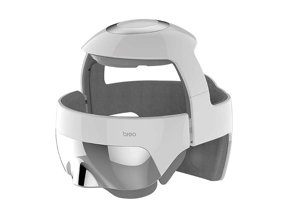 バイバイロッドトリムbreo(ブレオ) i-Brain5S(アイブレイン5エス) トータルヘッドスパ 頭 目元 USB充電 エア 温め リラックス コードレス メーカー保証有