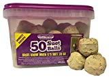 Suet To <span class='highlight'>Go</span> Insect Balls in Tub Wild Bird Treat, 50 x 90 g