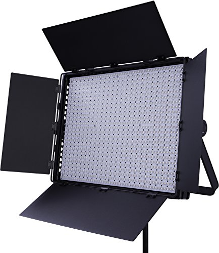 Interfit LM8 1200BI Panel de LED Bicolor de Alta Potencia Regulable para Foto y Video