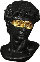 Estátua Grega Clássica, Estátua De Busto De David, Resina Branca Ou Preta Estatueta De Escultura De Arte Romana Grega Clás...