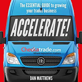 Accelerate! audiobook cover art