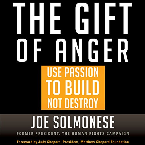 The Gift of Anger audiobook cover art