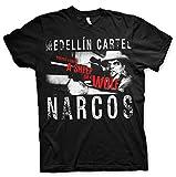 Otros - Narcos Camiseta Medellin Cartel talla M - HYPNARC004M