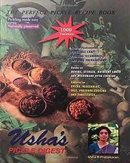 Usha's Pickle Digest: کتاب دستور العمل ترشی کامل