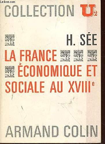 La france économique et sociale au XVIIIe