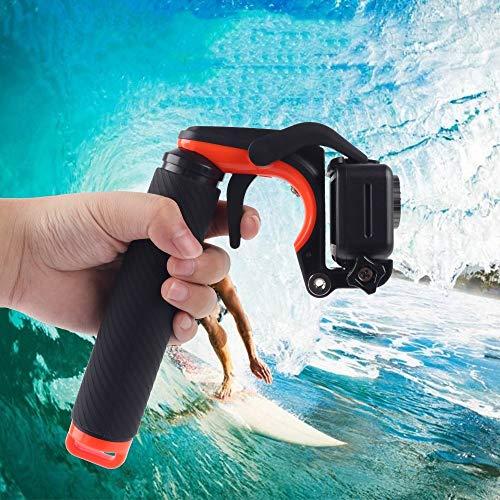 675 Home Shutter Trigger + Impugnatura Galleggiante Impugnatura Subacquea con Cinturino Regolabile Anti-Perso e Vite e Chiave for DJI New Action Pratico