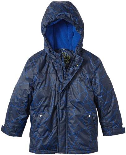 TOM TAILOR Kids Jungen Jacke 35207700082/checked jacket vntg, Gr. 104/110, Blau (6622 blue dawn)