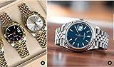 PLKNVT Luxury Stainless Steel Sapphire Orologi da Polso da Uomo Meccanici Automatici Diamonds Silver Gold Black 41Mm