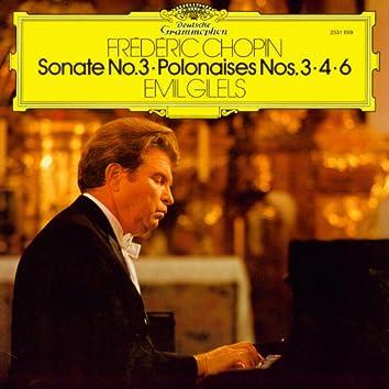 Chopin: Sonate No. 3 / Polonaises Nos. 3 / 4 & 6