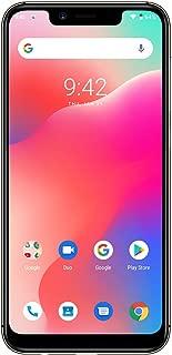 UMIDIGI A3 Pro Updated Edition SIMフリースマートフォン Android 9.0 2 + 1カードスロット 5.7インチ アスペクト比19:9 12MP+5MPリアデュアルカメラ 8MPフロントカメラ グローバルLTEバンド対応 両面2.5D曲線ガラス 3GB RAM + 32GB ROM(256GBまでサポートする) 顔認証 指紋認証 技適認証済み au不可 一年メンテナンス保証 (ゴールド)