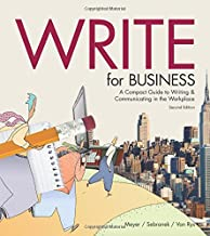 Best write for business 2nd edition Reviews