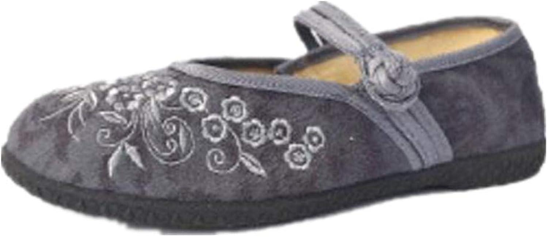 GUJMin Mother shoes Flat shoes Casual Fashion Canvas shoes Dance shoes Women's shoes