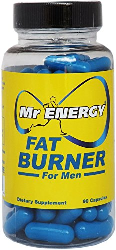 Mr Energy Fat Burners for Men 90 Capsules - Best Fat Burner Weight Loss Pills Belly Fat