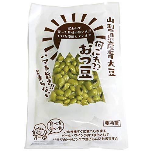 おつまめ 100g 山梨県 富士吉田産 有機栽培 無添加 青大豆 おつまみ