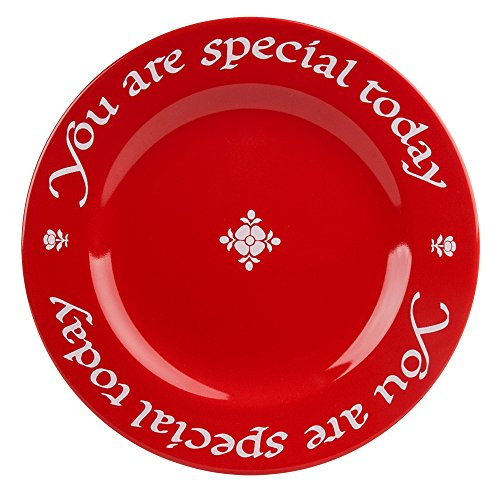 Waechtersbach Teller You Are Special Today rot Set of 1 cherry