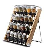 Orii GSR3266B 20 Jar Store-in-A Drawer Spice Rack, 12.5' W x 16' D x 2.625' H
