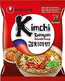 Nong Shim KimChi - Instant Pasta, Sopa de fideos KimChi, 20unidadesx 120gr