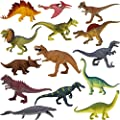 Boley 14 Pack Dinosaur Toys for Kids with Educational - Dinosaur Figures for Boys and Girls Ages 3 and Up from Boley