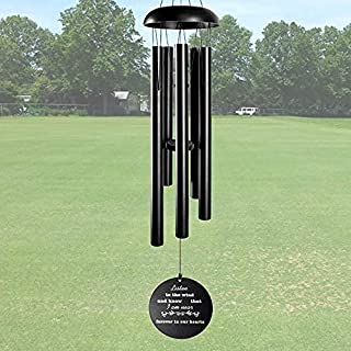 ARARTKEL Wind Chimes for Outside Deep Tone, Memorial Wind Chimes as Sympathy Gift, 32 Inch Windchimes Outdoors Decorations...