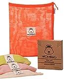 Wombag Rainbow-Edition - Bolsas Reutilizables para Frutas y Verduras (4...