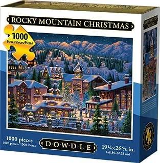 Dowdle Jigsaw Puzzle - Rocky Mountain Christmas - 1000 Piece