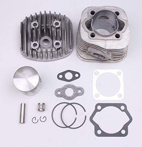 Kit de junta de pistón de cilindro de 47 mm para motor motorizado de 2 tiempos de 80 cc de bicicleta
