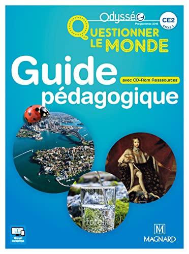 Odysséo Questionner le monde CE2 (2017) - Banque de ressources sur CD-Rom avec guide pédagogique papier (2017)