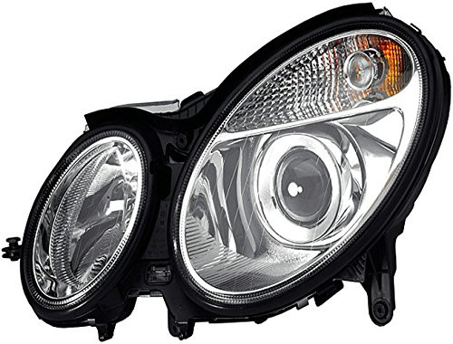 Hella halogeen koplampen Mercedes-Benz E-Klasse W211/S211 bj. 03/02-06/06 rechts. Bi-xenon/zonder bocht licht