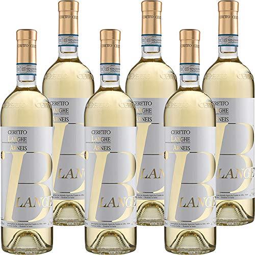 Langhe Doc Arneis Blangè   Ceretto Bio   Vino Bianco del Piemonte   Confezione 6 Bottiglie da 75 Cl   Idea Regalo