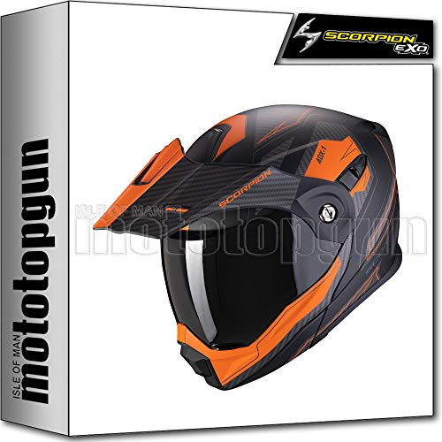 SCORPION Integralhelm ADX-1 Tucson schwarz matt orange Gr. M
